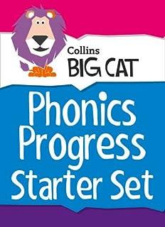 Phonics Progress Starter Set: Band 01a Pink - Band 04 Blue (Collins Big Cat Sets)