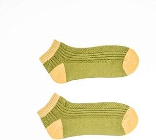 Medias De Los Hombres Calcetines Cortos De Algodón Para Hombre De Línea Gruesa De Otoño E Invierno. Una Sección De Un Paquete De 5 Pares.Calcetines Cortos De Algodón Para Hombre De Línea Gruesa De Ot