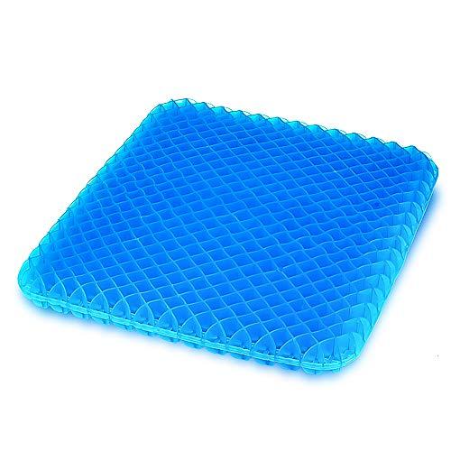 クッション ジェルクッション ゲルクッション 無重力 座布団 卵割れない 二重設計 体圧分散 暑さ対策 美尻 自宅用 オフィス テレワーク カバー付き
