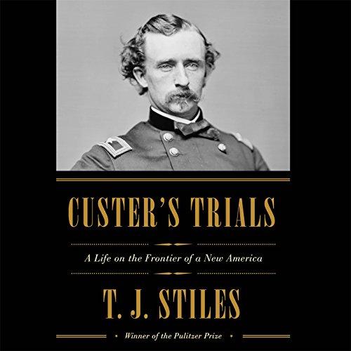 Custer's Trials audiobook cover art