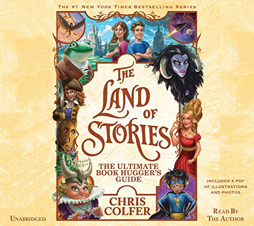 『The Land of Stories: The Ultimate Book Hugger's Guide』のカバーアート