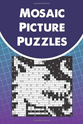 Mosaic Picture Puzzles: ...50 tricky mosaic puzzles