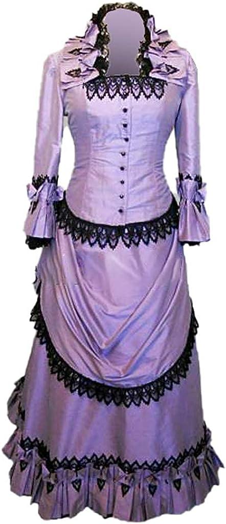 Victorian Dresses | Victorian Ballgowns | Victorian Clothing Steampunk Victorian Gothic Cosplay Costume Victorian Bustle Dress Gown Costume Edwardian Dress  AT vintagedancer.com