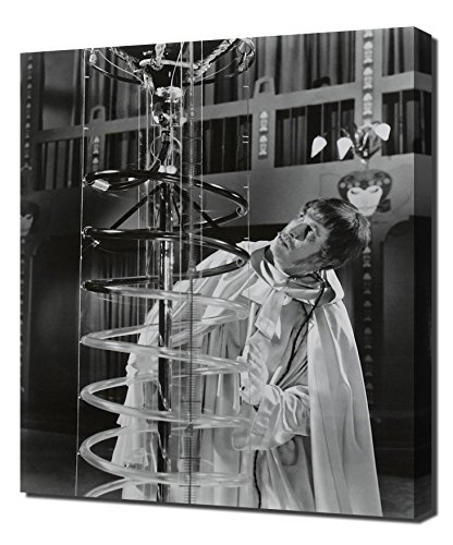 Pingoo Prints Preis, Vincent (schreckenskabinett des Dr. Phibes, The) 2,5cm Kunstdruck, Leinwand, Mehrfarbig, 60x 90x 5cm