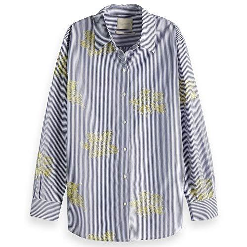 Maison Scotch Striped Patterned Shirt - 149786