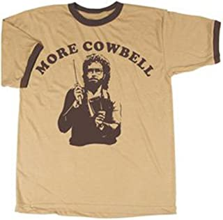 SNL Saturday Night Live More Cowbell Vintage Tan/Cream T-Shirt Tee