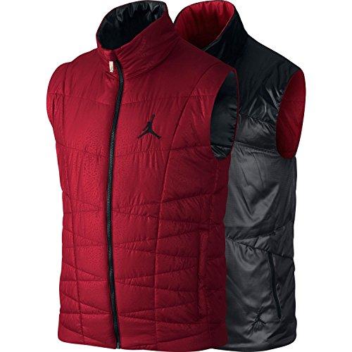 Nike Jordan Double-Face Vest Gilet Imbottito 545949-606 Taglia Small