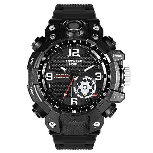 MROSW Sports Camera Watch Remote WiFi Large Capacity HD Camera Wristband Glare Lighti IP67 Waterproof Watch 128G Smart Watch