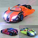 Diecasts Toy Vehicles Children Lights Sound Caipo Bugatti Diecast Car Model Diecasts Metal Cars Toy Pull Back Gift for Kids