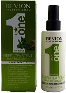 Revlon Uniq One Green Tea Scent Hair Treatment, 150 ml