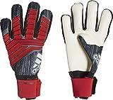 Adidas Predator Pro Junior - Guantes de Portero Unisex para niño, Color Negro, Rojo y Blanco