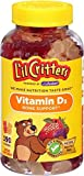 L'il Critters Vitamin D3 Bone Support Natural Fruit -- 190 Gummy Bears by Lil Critters