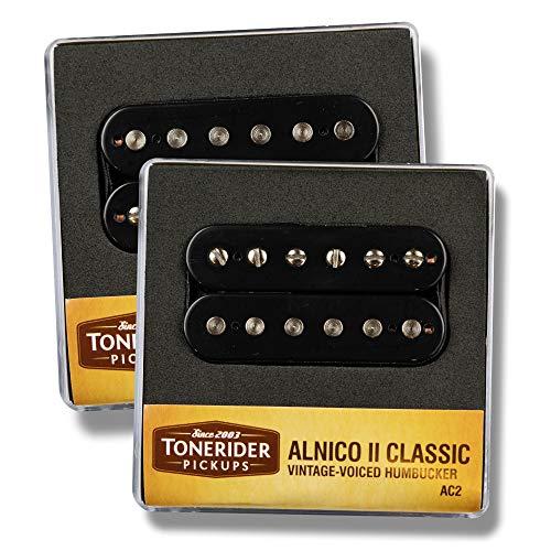 Tonerider Alnico II Classic Vintage Humbucker set black AC2 neck & bridge NEW