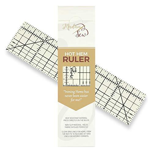 Quilters Hem Ruler