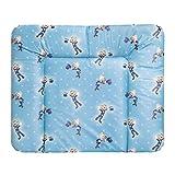 Wickelauflage HAPPY | weiche Wickelunterlage | Öko-Tex 100 | abwaschbar & pflegeleicht SONDERKOLLEKTION (72 x 85 cm, Sterne Blau)