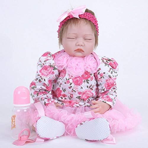 Hongge Lebensechte Prinzessin mädchen Reborn Puppe Zoll realistische Silikon Real Touch Neugeborenen Spielzeug mit Kleidung Kinder Geburtstag Xma S Geschenk