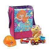 Shopaholic Mermaid Foldable Large Size Cloth Storage Box Toy, Books Wardrobe Organizer Cube