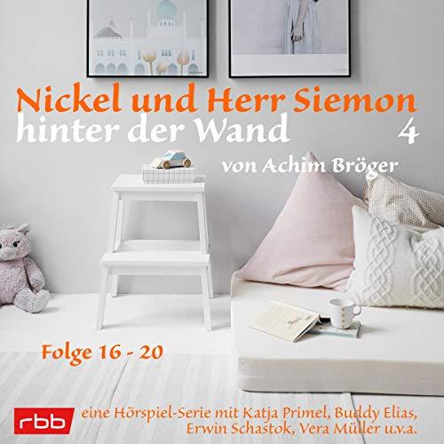 Nickel und Herr Siemon hinter der Wand 4 cover art