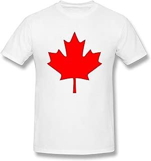 Men's Canadian Maple Leaf, Canada Pride Fashion T-Shirts White