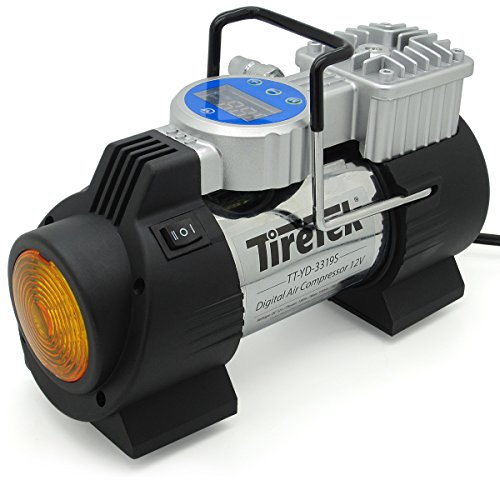 TireTek Power-Pro Portable Tire Inflator Pump -...