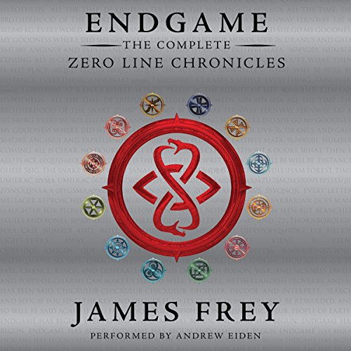 Endgame: The Complete Zero Line Chronicles audiobook cover art