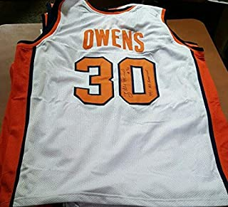 Nice Authentic Autographed Signed Syracuse Billy Owens Jersey (Size XL) 1991 All American JSA COA