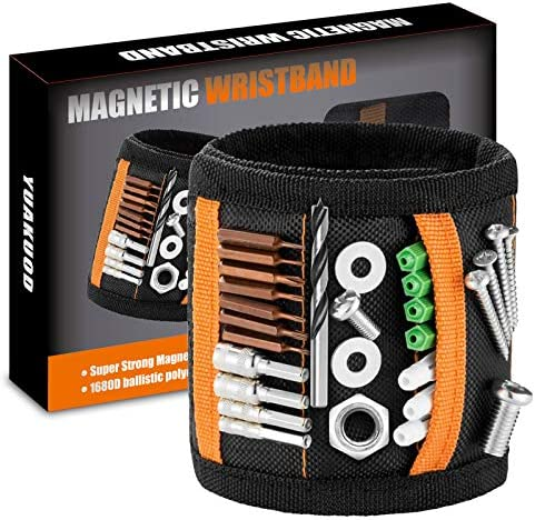 Magnetic Wristband Tools Tool Belt With 20 Strong Magnets for Holding Screws Nails Drill Bits product image