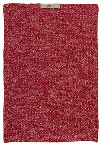 IB Laursen Handtuch Mynte Strawberry Melange gestrickt