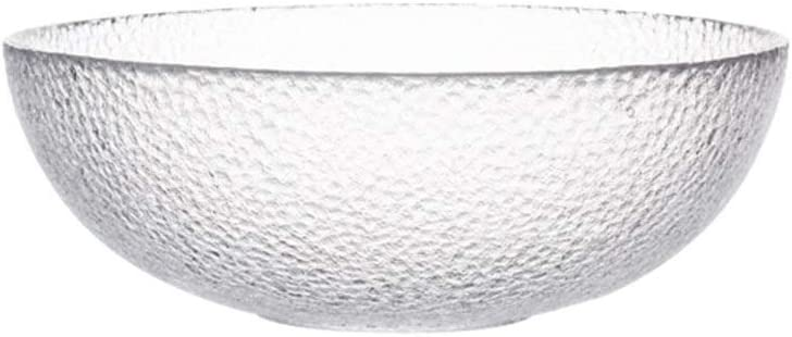 WWFAN excellence Clear Max 74% OFF Glass Mixing Bowls Rice Large Cereal Serving