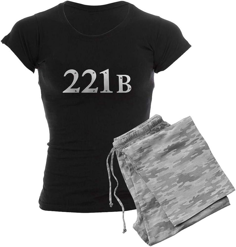CafePress 公式 Sherlock 正規販売店 221B PJs Women's
