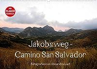Jakobsweg - Camino San Salvador (Wandkalender 2022 DIN A2 quer): Pilgerweg von Leon nach Oviedo (Geburtstagskalender, 14 Seiten )