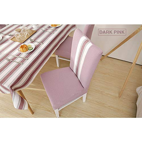 Chair Cover Removable Stretch Dining Room Chair Cover Elastic Slipcovers Seat Cover for Banquet Wedding Restaurant Hotel