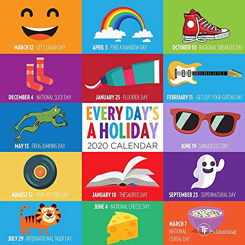 2020 Every Day's A Holiday Mini Calendar