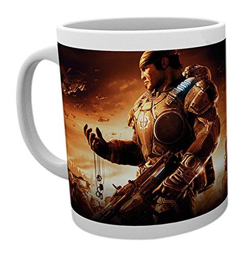GB Eye LTD, Gears of War, Key Art 2, Taza de Ceramica