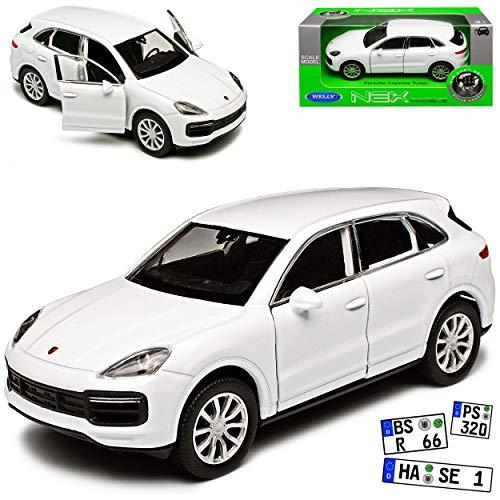 Car Shades POR-CAYE-5-B Satz Porsche Cayenne 2011-2017 Schwarz