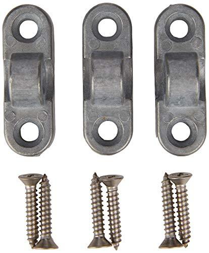 Brunner Vorzeltösen Aluminium waagrecht 3er pack SB