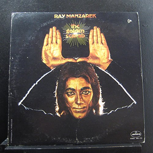 Ray Manzarek [Doors] ~ Golden Scarab LP Vinyl Record (298)