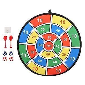 頑丈なハンギングタブ害なしダーツボードゲーム、子供ダーツボード、裏庭のリビングルーム家庭用ハロウィーンギフトイースターギフト誕生日プレゼントパーティー(Style 4)