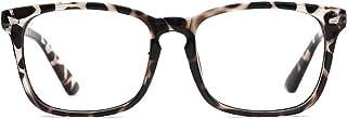 Blue Light Blocking Glasses for Women Men Clear Frame Square Nerd Eyeglasses Anti Blue Ray Computer Screen Glasses