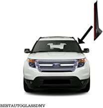 NAGD Windshield-Outer Pillar Outer Trim Molding for 2011-2018 Ford Explorer Driver/Left Side