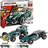 Meccano 5 Model Set Roadster - Juegos de construcción (Juego de construcción de Varios Modelos de vehículos, 8 año(s), 174 Pieza(s), Negro, Verde, Plata, China, 360 g)