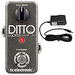 TC Electronics Ditto Looper Effect Pedal - best vocal delay pedal
