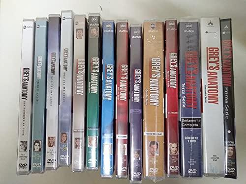 GREY\'S ANATOMY - STAGIONI 1-14 (83 DVD) COFANETTI SINGOLI, ITALIANI