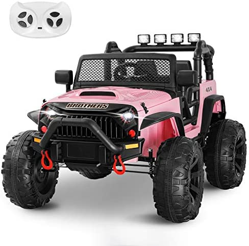 HOMFY Kids Ride on Truck Toy 12V Electric Vehicles Motorized Toddler Realistic Off Road UTV product image
