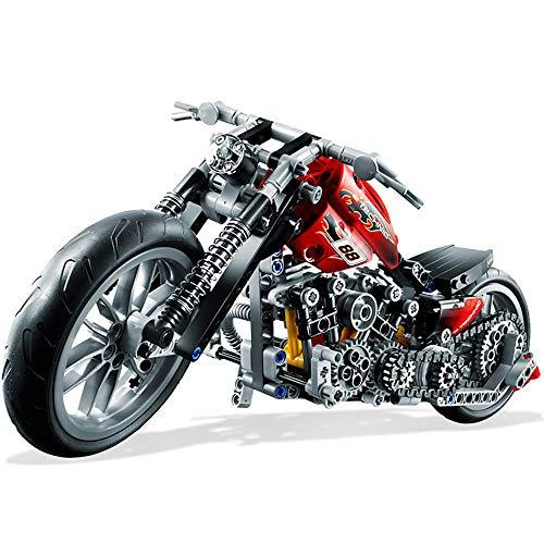 Modelo Bloques de construcción DIY Harley Vehículo Bloque de construcción Ladrillo Juguete Niños Puzzle Set de Regalo (378pcs)