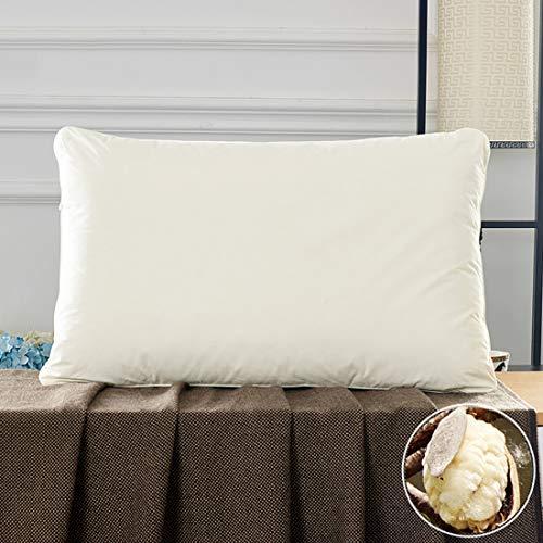 Verstelbaar Kussen Voor Slaap, Natuurlijk Met Kapok Gevuld Comfortabel Huis En Hotel, Enkel Kussen, Vervangend Kussen Voor Nek- En Rugsteun, 45 * 70cm