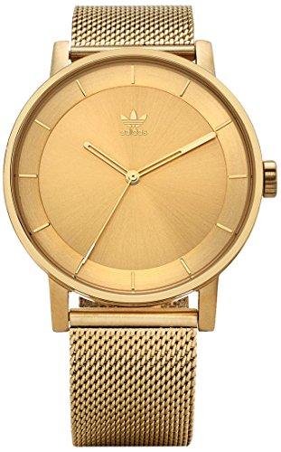 Adidas Herren Analog Quarz Uhr mit Edelstahl Armband Z04-502-00