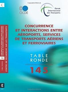 Tables Rondes Fit Concurrence Et Interactions Entre A roports, Services de Transports A riens Et Ferroviaires