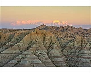 Media Storehouse 10x8 Print of Panorama Point in Badlands National Park, South Dakota, USA (18244617)