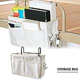 Organisateur de lit, sac de rangement pour sac de rangement suspendu, poche pour lit...